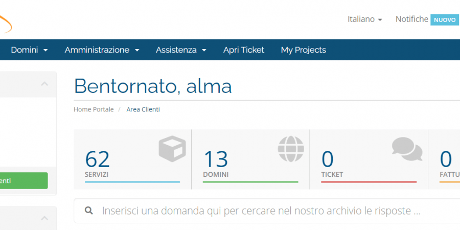 Accesso File E Cartelle FTP Server Portale Alma Technology