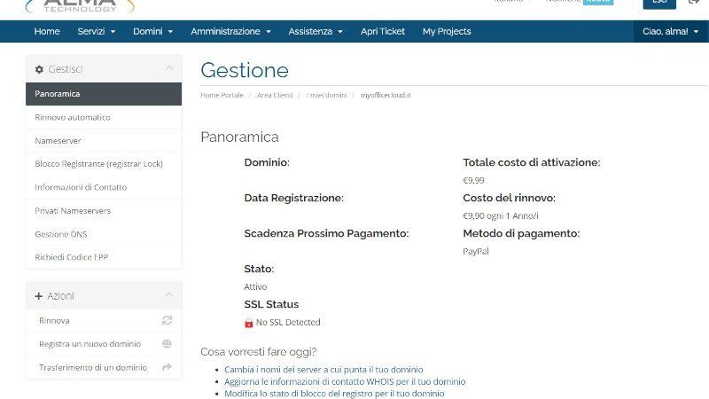 richiedi codice auth info portale alma technology 800x500 1