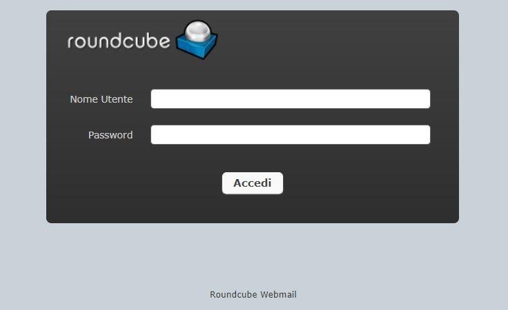Guida Posta Elettronica My Office Cloud tramite Webmail RoundCube