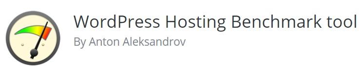 logo wordpress hosting benchmark tool